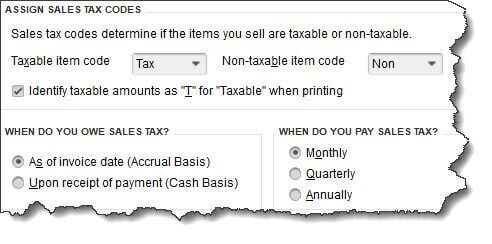 Setting Up Sales Tax In Quickbooks Part 2